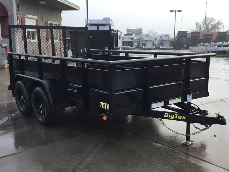 New 2020 Tex 70TV-12 7x12 Utility Trailer