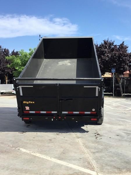 New 2020 Big Tex 16LX-14 P3 7x14 17.5K GVW Dump Trailer