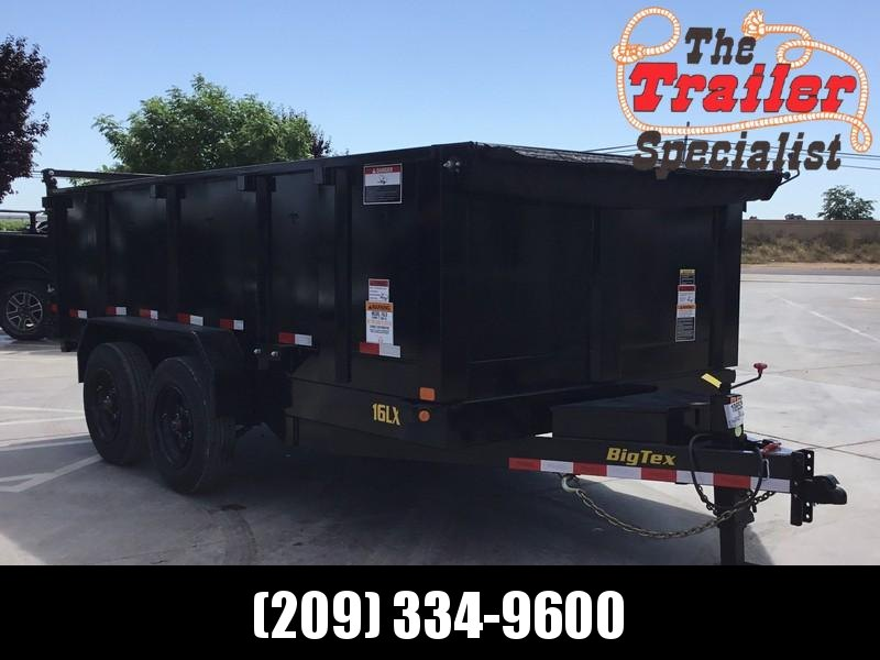 New 2020 Big Tex 16LX-14 P3 7x14 17.5K GVW Dump Trailer