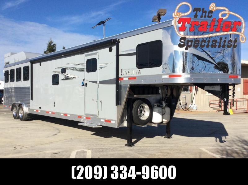 2020 Lakota C8415SR Living Quarter 4h Horse Trailer