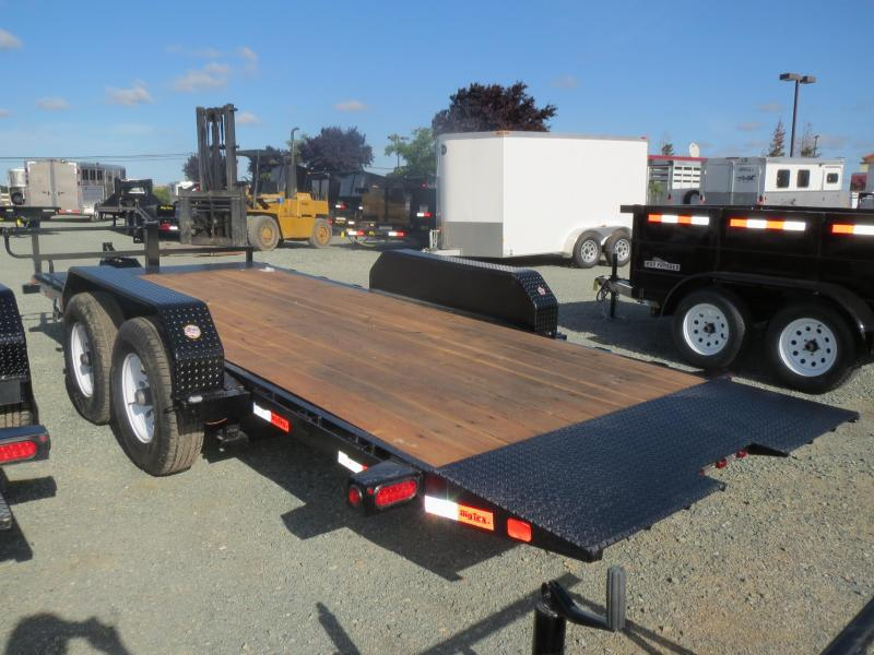 New 2020 Big Tex 14FT-18 Tilt Equipment Trailer 7x18