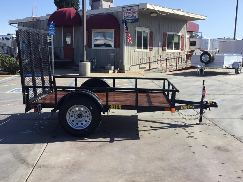 New 2020 Big Tex 30ES-08 5x8 Economy Utility Trailer