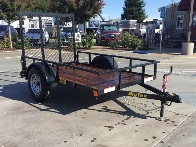 New 2020 Big Tex 30ES-08 5x8 Economy Utility Trailer
