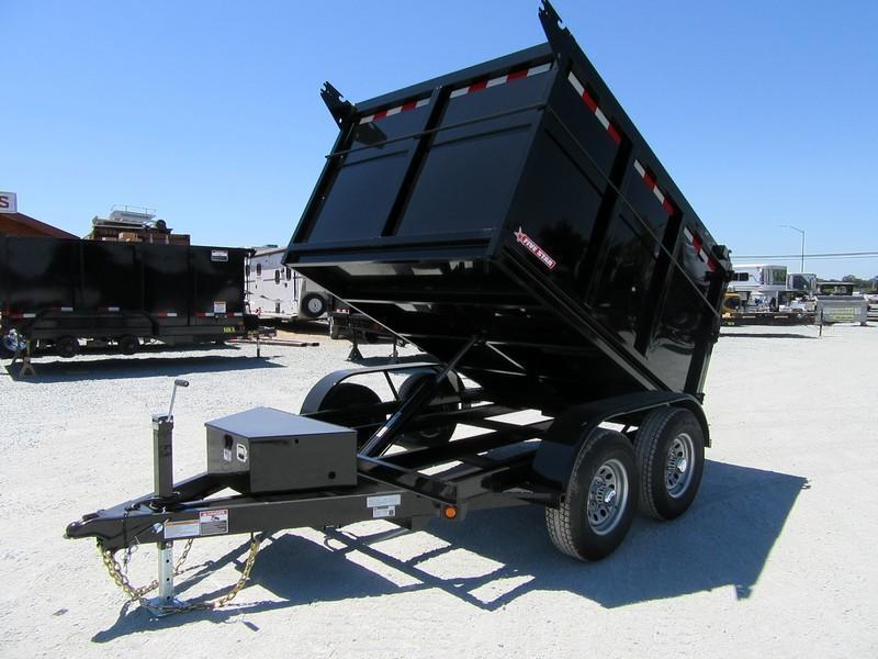 New 2020 Five Star DT294 D10 6x8 10K 4' sides Dump Trailer
