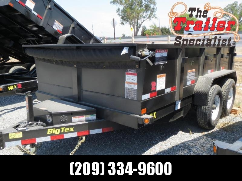 New 2020 Big Tex Trailers 14LX-12 7x12 14K GVW Dump Trailer