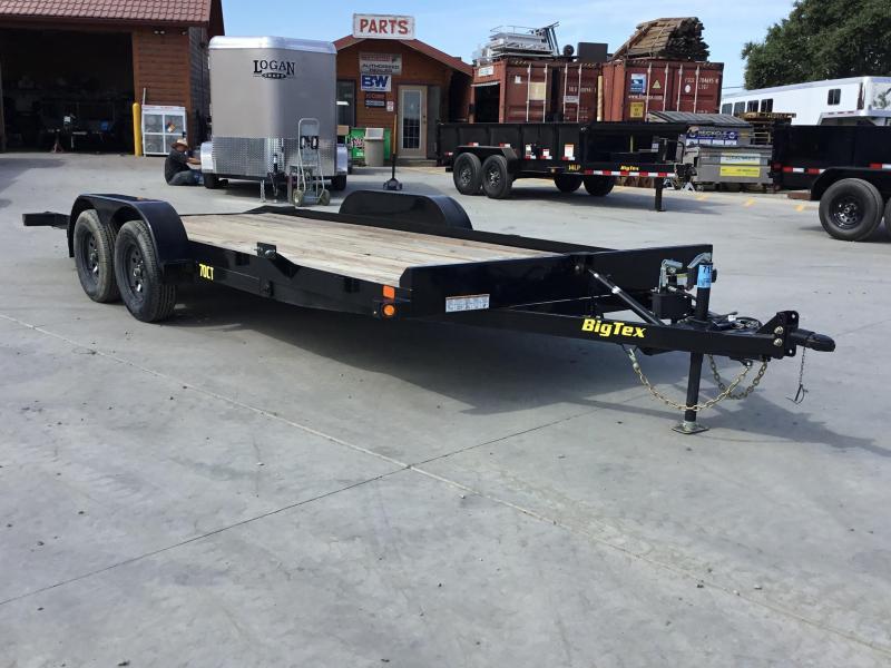 New 2019 Big Tex 70CT-20 Car Trailer Tilt 7x20 7k