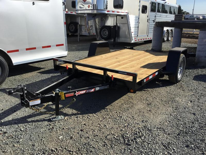 New 2020 Five Star UT271 3K 6.5x12 Tilt Utility Trailer