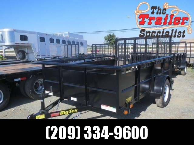 New 2020 Big Tex 35SV-12 6.5x12 2990# GVW Utility Trailer