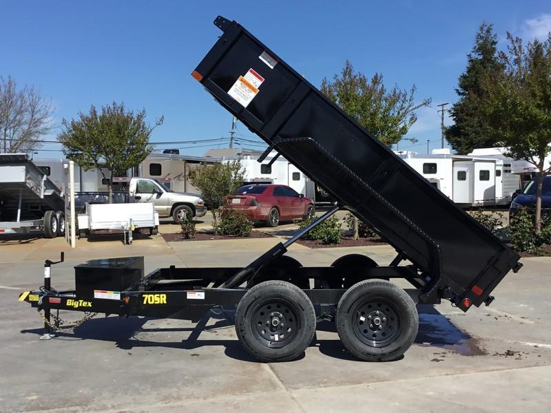 New 2020 Big Tex 70SR-10-5WDD 5x10 7K GVW Dump Trailer