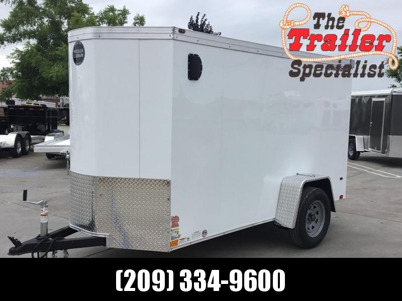 NEW 2020 Wells Cargo RFV510S2 5x10 Enclosed Cargo Trailer