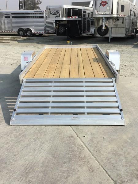 "New 2019 Aluma 6812ESW Aluminum Utility Trailer 68""x12'"