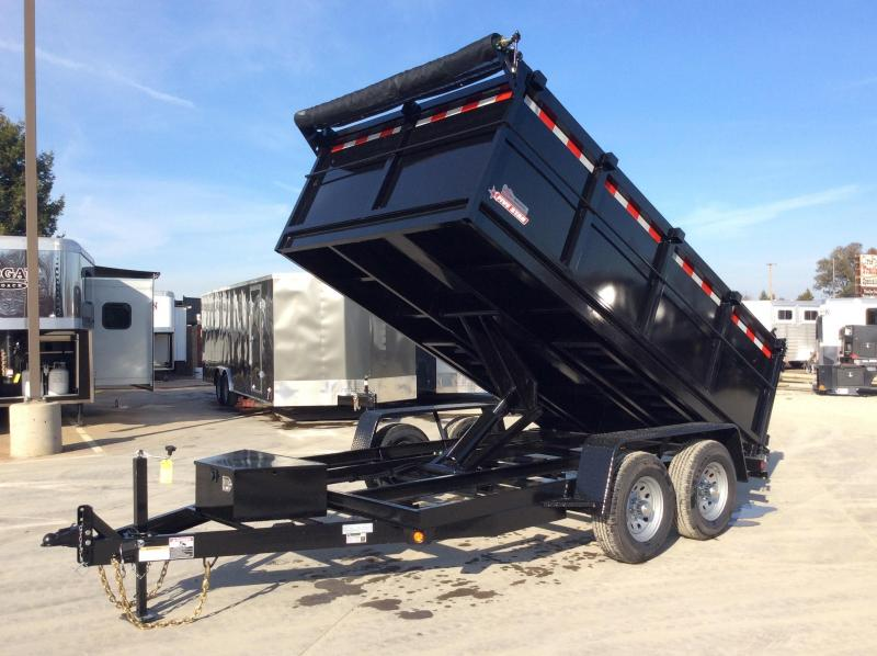 2020 Five Star DT280 Dump Trailer 7x12 10k GVW 3' Sides