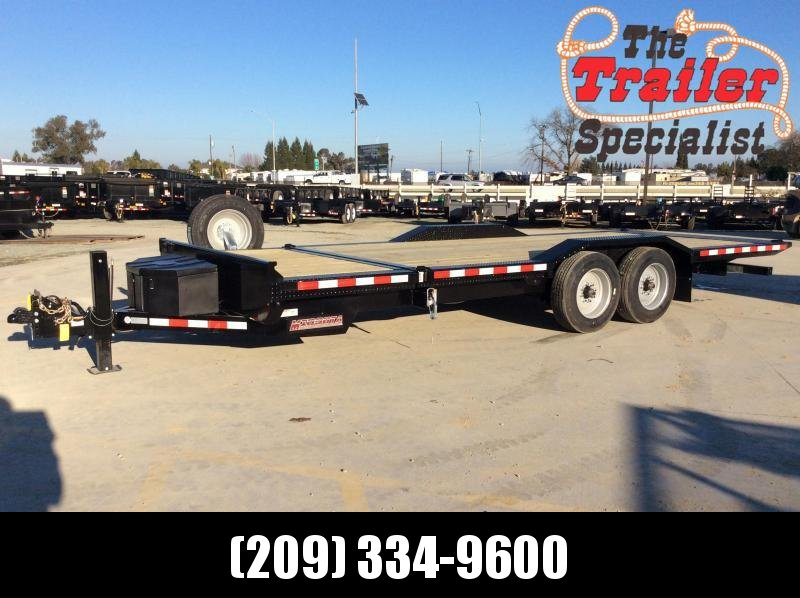 2020 Midsota TBWB-22 Equipment Trailer 7X22 17K TILT