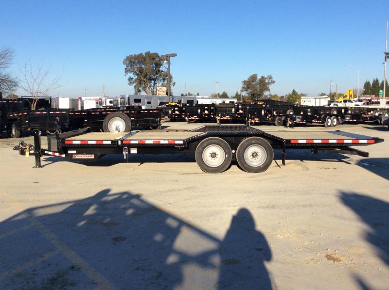 2020 Midsota TBWB-22 Equipment Trailer 7X22 17K TILT