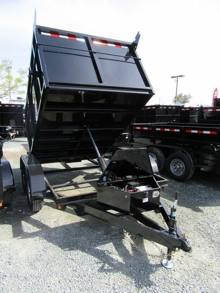 New 2020 Five Star DT293 7k GVW 6x8 Dump Trailer