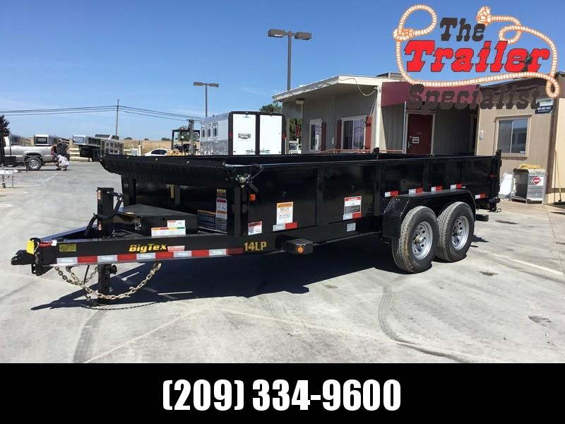 New 2020 Big Tex 14LP-16-6SIR 7x16 14K Low profile Dump Trailer