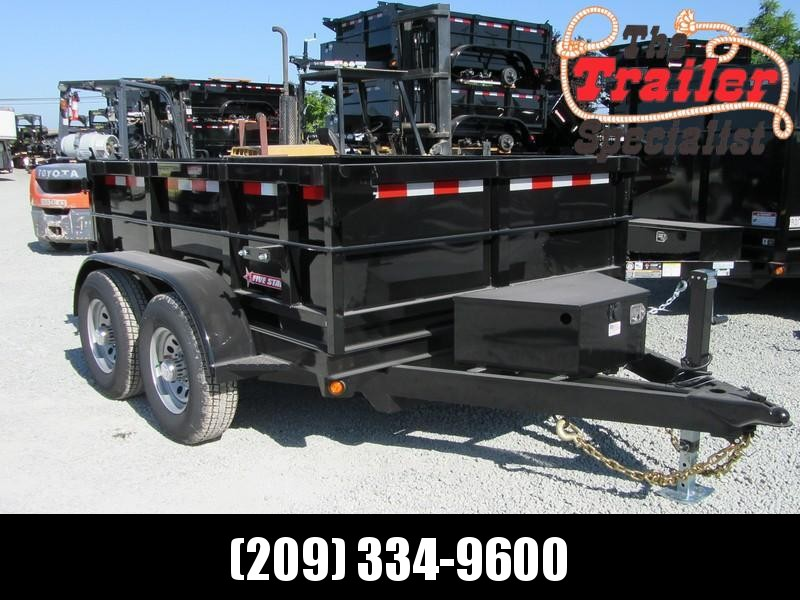 New 2020 Five Star DT287 10K Dump Trailer 6X8