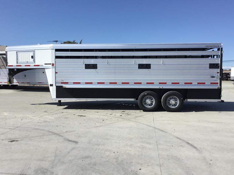 NEW 2020 Logan Coach 20 ft Stockman Livestock Trailer