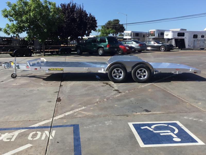 "New 2020 Aluma 8220 82""x20' 7K GVW Car/Racing Trailer"