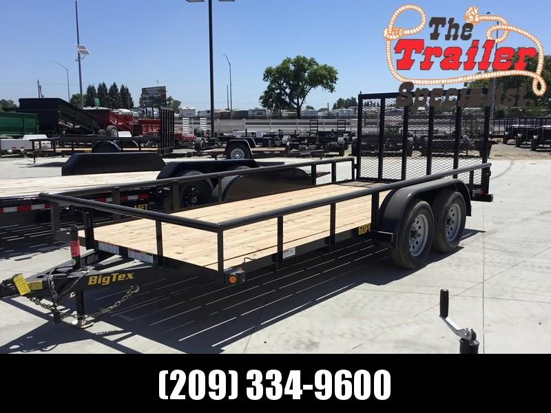 New 2020 Big Tex 60PI-16RG 6.5x16 6K GVW Utility Trailer