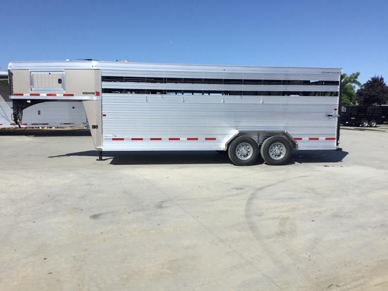 NEW 2020 Logan Coach 20 ft Stockman Livestock Trailer
