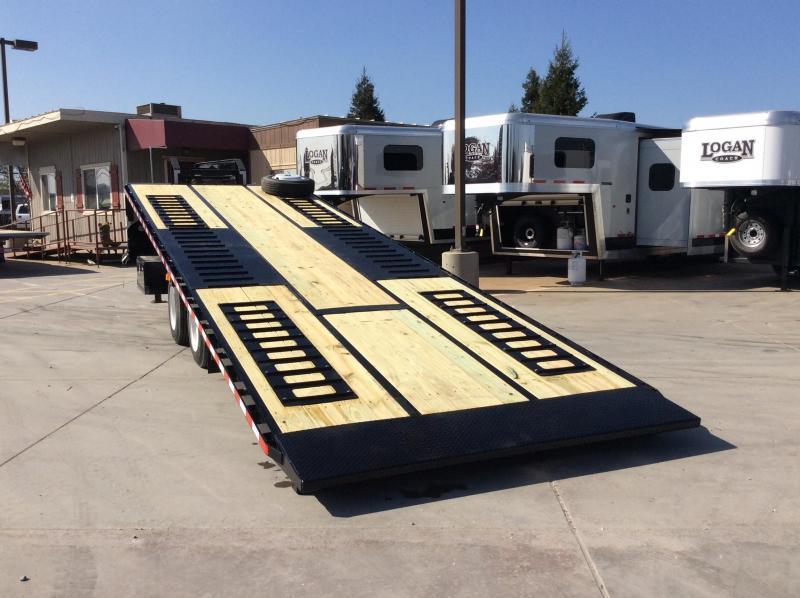NEW 2020 Midsota 28ft Heavy Duty full tilt Equipment Trailer