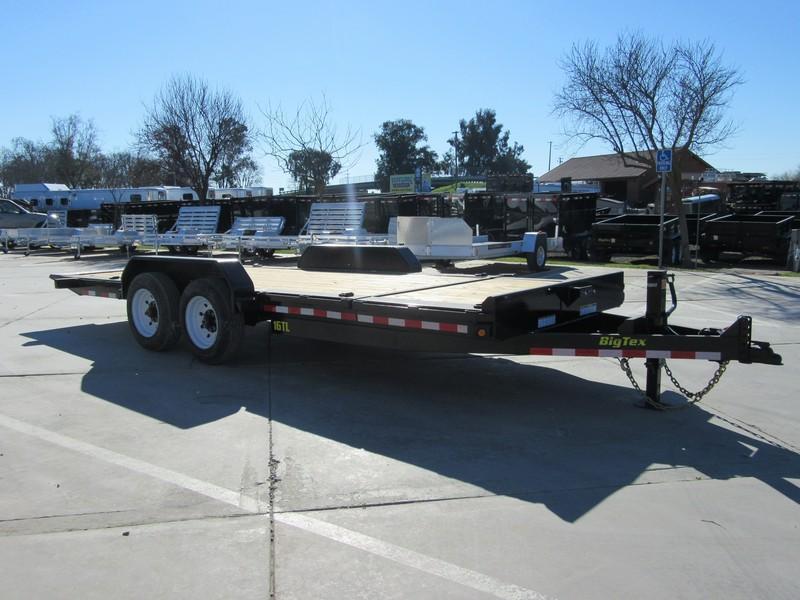 "New 2020 Big Tex Trailers 16TL-22 Equipment Trailer 81""X22 16K"