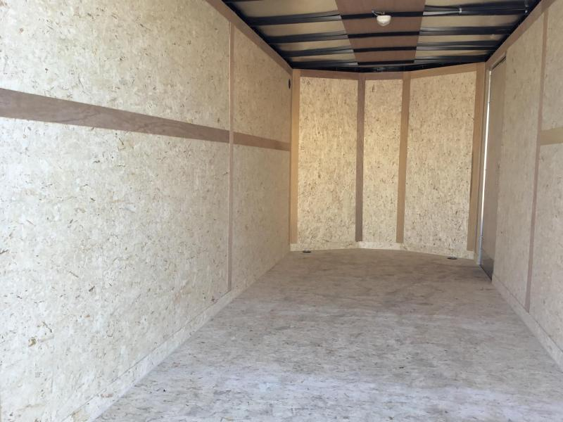 New 2019 Wells Cargo FasTrac FT716T2-D 7x16 Enclosed Cargo Trailer