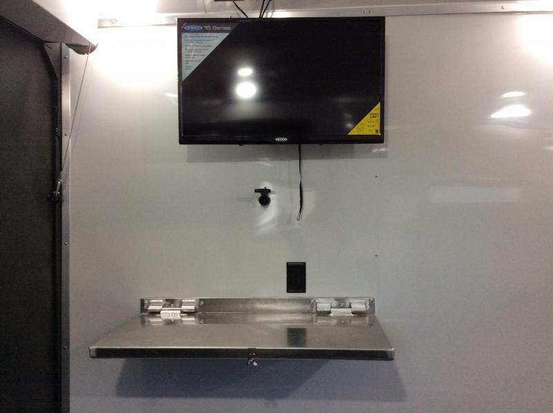 NEW 2020 Logan Coach Ultimate Sports Toy Hauler 14ft LQ 16ft garage