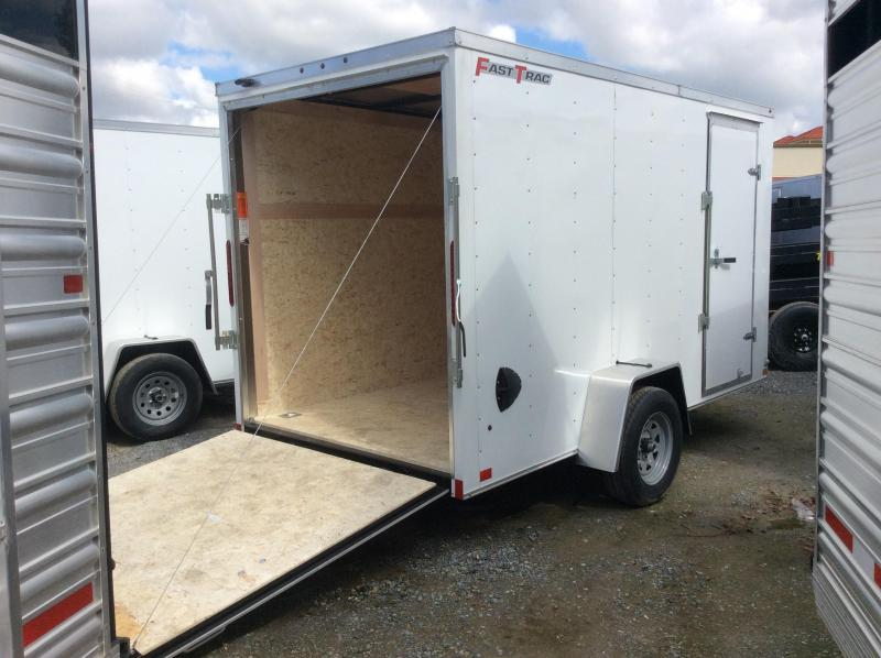 New 2020 Wells Cargo FasTrac FT612S2-D 6x12 Enclosed Cargo Trailer