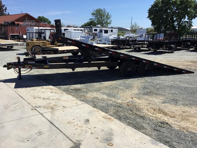 New 2020 Big Tex 14OT-24 14K 8.5x24 Tilt Deck Over Equipment Trailer