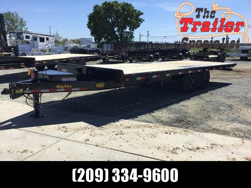 New 2020 Big Tex 14OT-24 14K 8.5x24 Tilt Deck Over Equipment Trailer