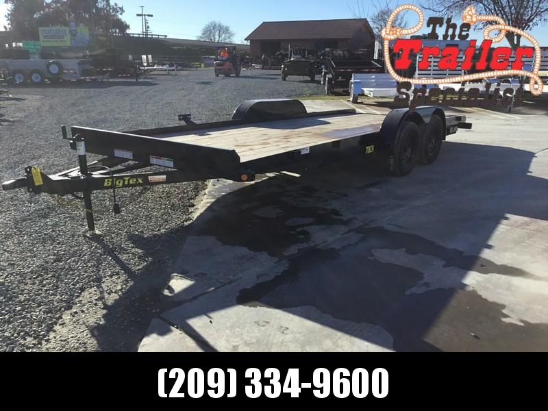 New 2020 Big Tex 70CH-20BK2 7x20 7K Car / Racing Trailer