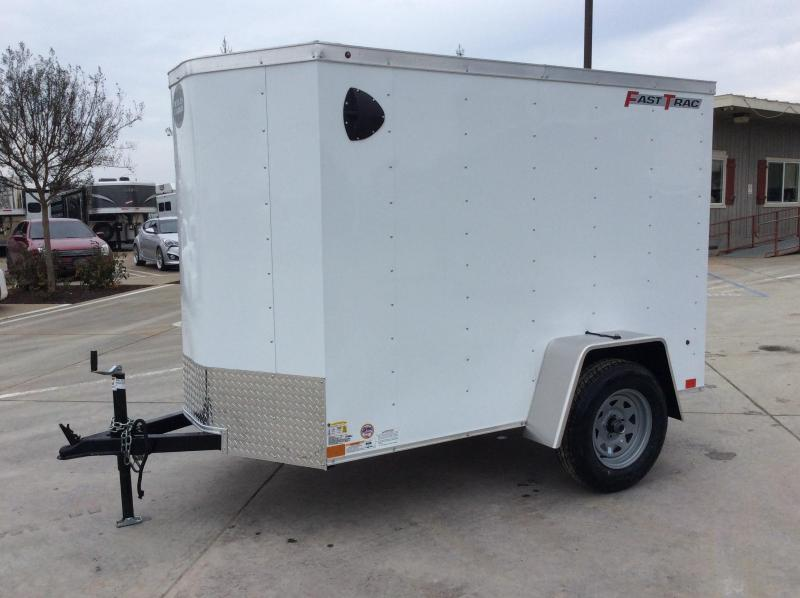 NEW 2020 Wells Cargo FT58S2 5x8 Fastrac Enclosed Cargo Trailer