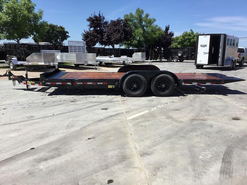 "New 2019 Big Tex 10FT-20 80""x20' Tilt Equipment Trailer"