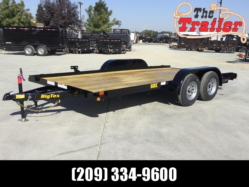 2020 Big Tex Trailers 60EC-16 Car/Racing Trailer 83 x 16 Car / Racing Trailer