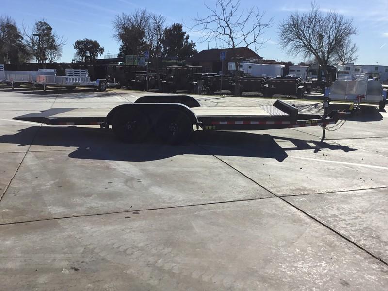 "New 2020 Big Tex 10FT-18 80""x18' Car Hauler or Equipment Trailer"