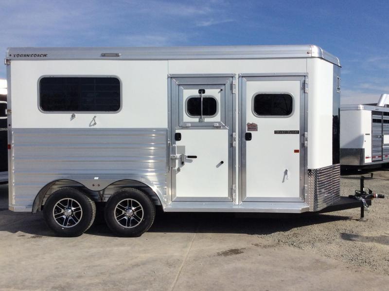 2020 Logan Coach 2H XTR Warmblood BP Horse Trailer