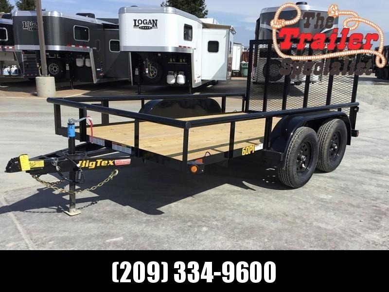 New 2020 Big Tex 60PI-12RG 6.5x12 6K GVW Utility Trailer