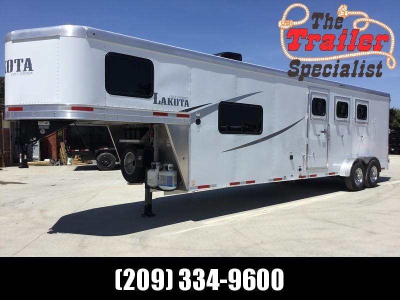 NEW 2020 Lakota AC311 3H Alum Colt GN LQ Horse Trailer
