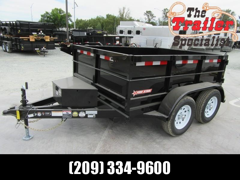 New 2020 Five Star DT263 Dump Trailer 6X8 7K