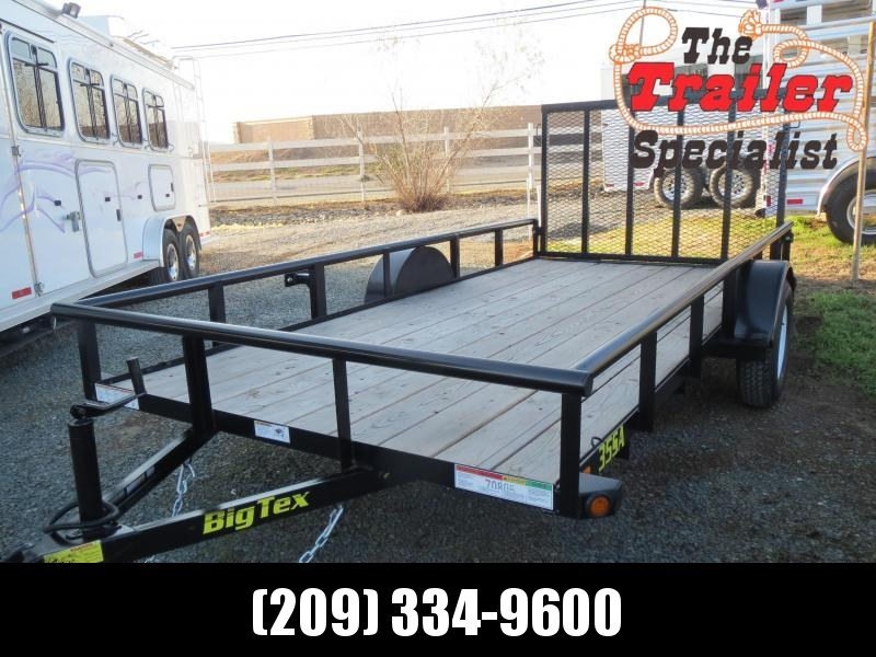 New 2020 Big Tex Trailers 35SA-14 Utility Trailer 6.5'x14' 3k GVW