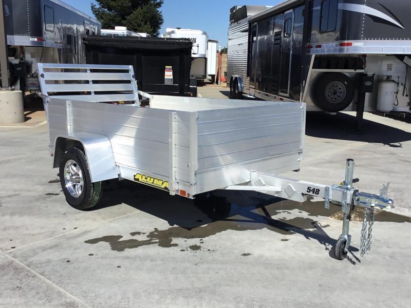"New 2020 Aluma 548 Aluminum Utility Trailer 54""X8'"