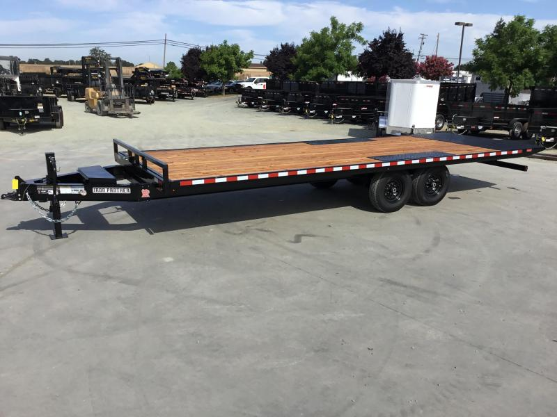 New 2019 Iron Panther ET566 8x24 Equipment Trailer