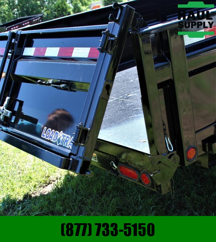 "Load Trail 83X14 14K DUMP 8"" I-BEAM TARP RAMPS+MORE"
