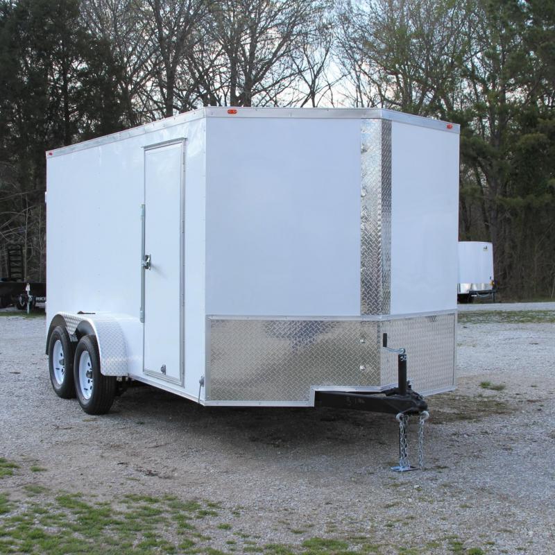 Traveler Cargo 7X14TA 7K V-nose Enclosed Cargo Trailer R