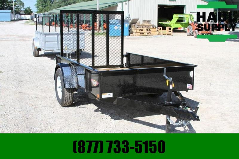 H and H Trailer H&H 5X8 STEEL SOLID SIDE TUBE GATE
