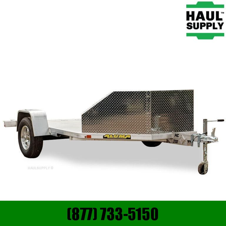 Aluma 78X138 2 PLACE MOTORCYCLE HAULER TORSION