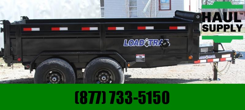 "Load Trail 83X12 14K DUMP 8""I-BEAM FRAME TARP RAMPS"