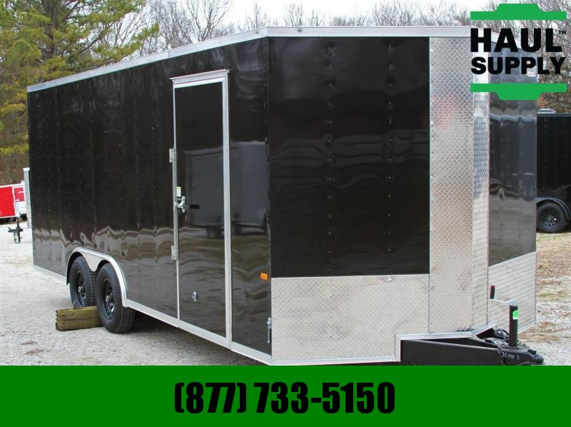 8.5X20 10K Enclosed Car Hauler 7ft. Tall Radials Insulated Ceiling!